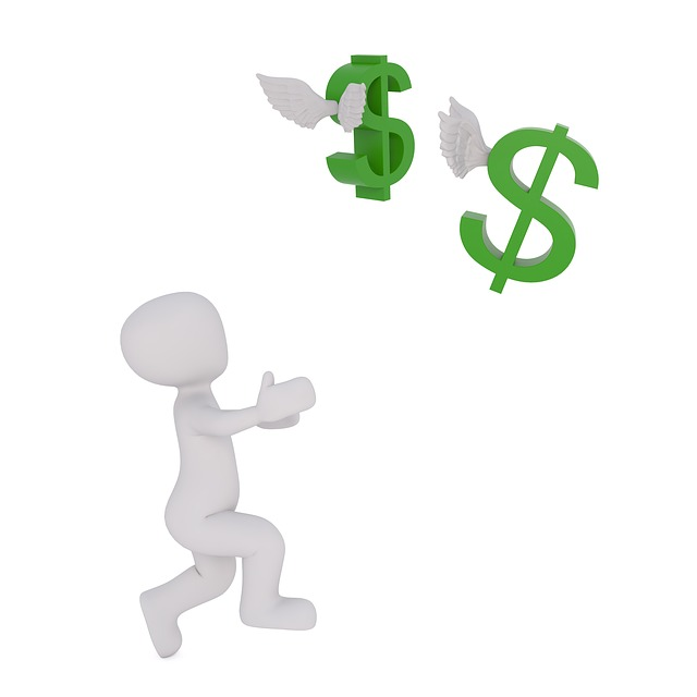 dolary uletěly