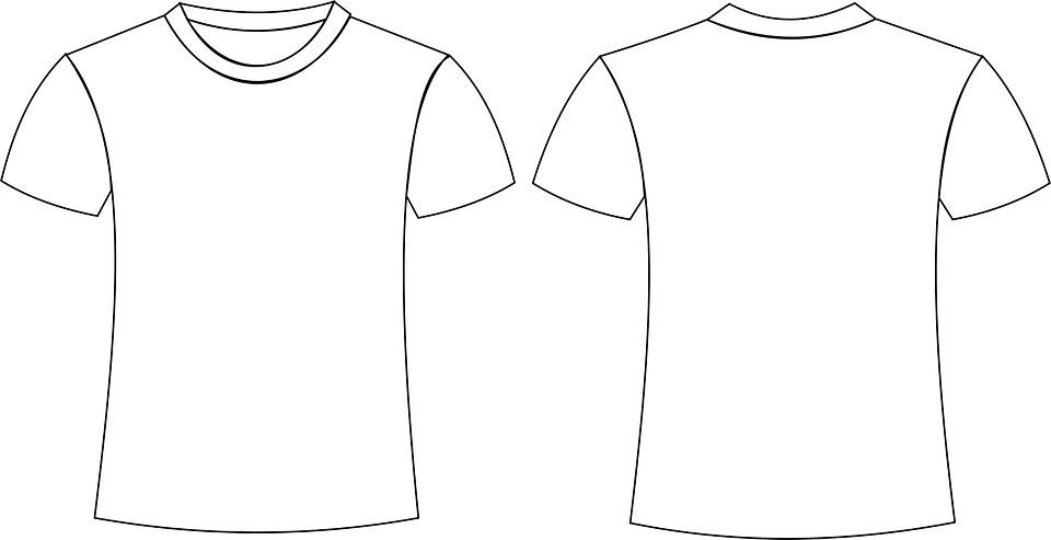 střih trička